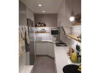 60平米北欧风格厨房装修图片大全