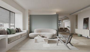 80平米三室一厅日式风格客厅装修效果图