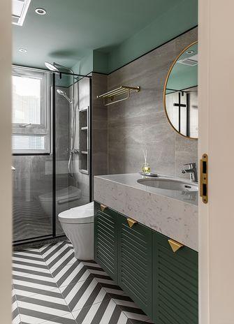 60平米三室两厅法式风格卫生间装修效果图