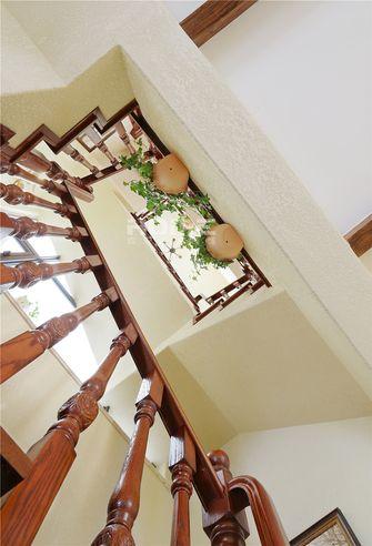 豪华型140平米别墅美式风格楼梯图