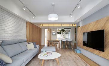 100平米复式北欧风格客厅装修效果图