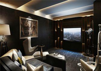 110平米三室两厅欧式风格影音室设计图