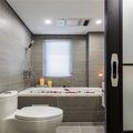 120平米四室一厅混搭风格卫生间设计图