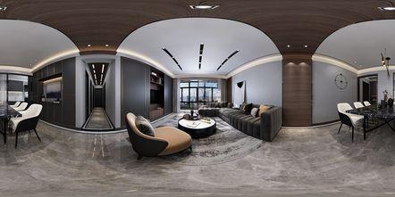 120平米四室一厅北欧风格客厅图片