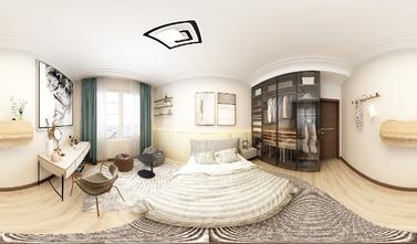 80平米公寓欧式风格卧室装修案例