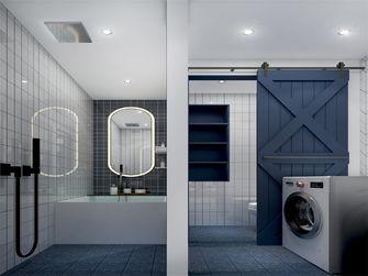 70平米一室一厅欧式风格卫生间设计图