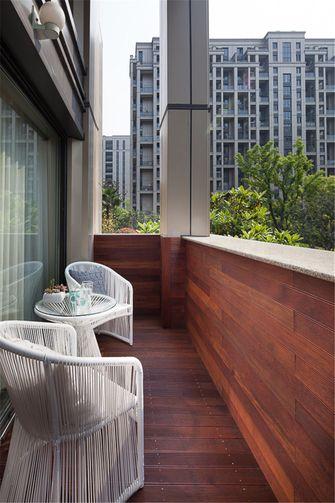 120平米四室两厅现代简约风格阳台装修案例