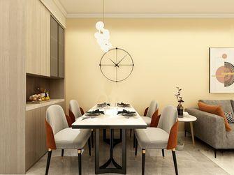 80平米三北欧风格餐厅装修案例