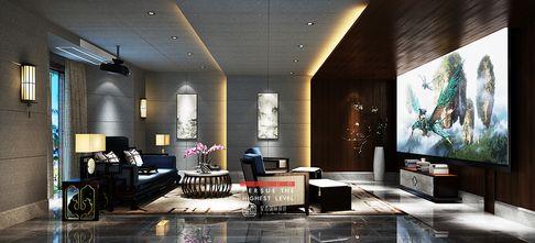 豪华型140平米别墅中式风格影音室效果图