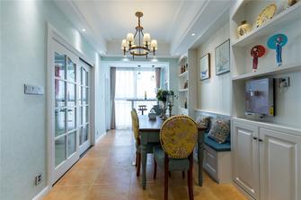 90平米三室两厅欧式风格餐厅设计图