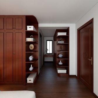 130平米三室一厅中式风格衣帽间图片大全