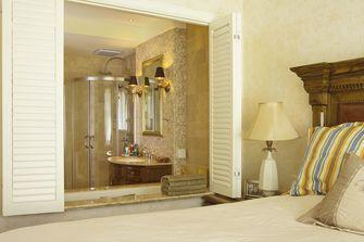 80平米三室三厅美式风格卧室图片大全