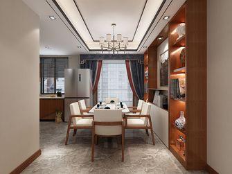 100平米三室一厅中式风格餐厅装修效果图