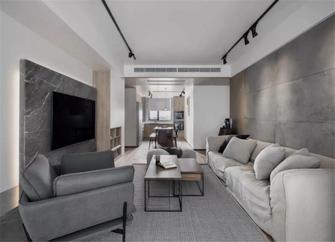 120平米四北欧风格客厅设计图