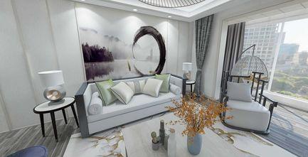 100平米中式风格客厅装修图片大全
