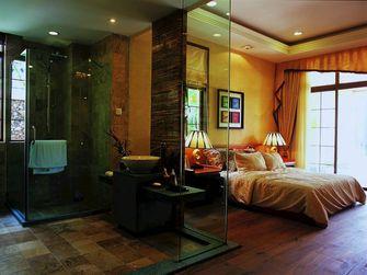 80平米三室两厅东南亚风格卧室装修图片大全