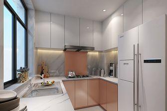 100平米一居室中式风格厨房图