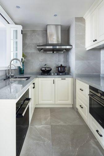 120平米复式美式风格厨房图