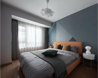 80平米四室两厅北欧风格卧室设计图