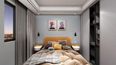 90平米中式风格儿童房效果图