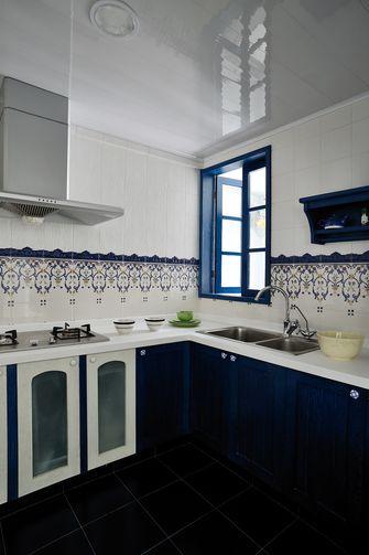 10-15万80平米三室一厅地中海风格厨房设计图