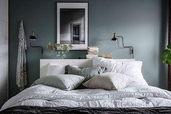 80平米公寓北欧风格卧室装修图片大全