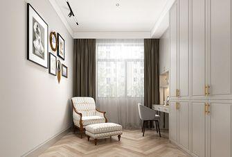 110平米三室一厅美式风格影音室设计图
