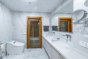 20万以上140平米三室两厅新古典风格卫生间图片大全