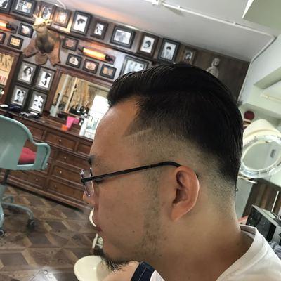剪发效果图