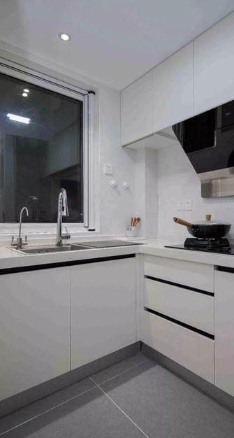 80平米三室两厅北欧风格厨房装修效果图