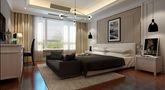 140平米别墅美式风格卧室背景墙欣赏图