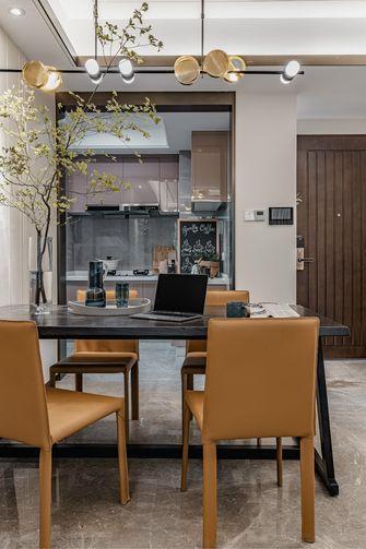 110平米三现代简约风格餐厅图片