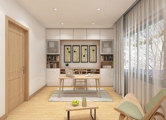 140平米四室一厅日式风格书房装修案例