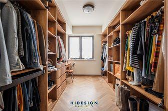 140平米三室两厅混搭风格衣帽间图片