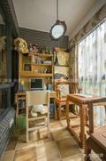 100平米三室两厅田园风格阳光房装修案例