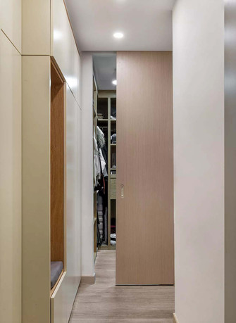 60平米北欧风格走廊图片