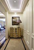 110平米三室四厅新古典风格走廊设计图