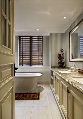 130平米四室两厅美式风格卫生间图片大全
