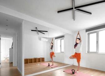 110平米三室两厅北欧风格健身室装修图片大全