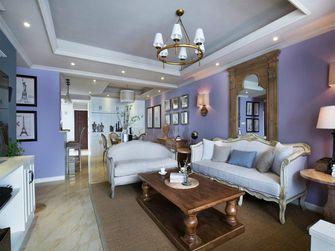 110平米三室两厅美式风格客厅欣赏图