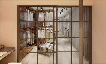 100平米一居室现代简约风格阳台设计图