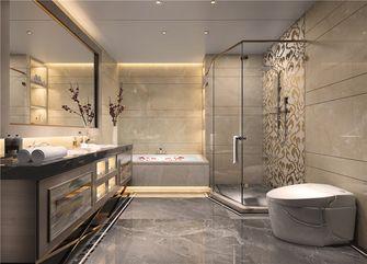 140平米三室三厅新古典风格卫生间图
