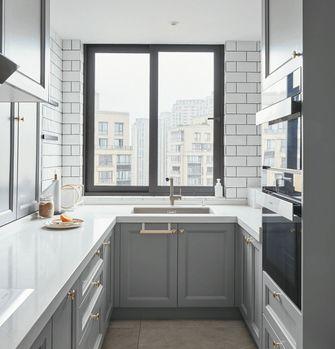 90平米美式风格厨房装修效果图