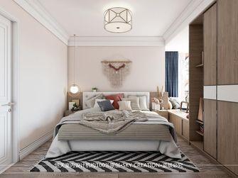 80平米田园风格卧室装修图片大全