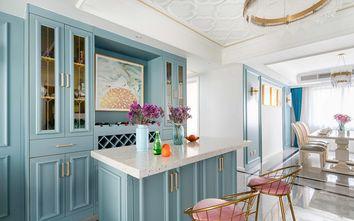 130平米三室两厅美式风格玄关设计图