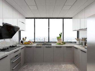 100平米三室两厅现代简约风格厨房图