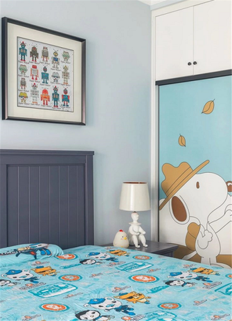 120平米四美式风格儿童房图片