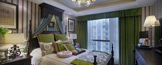 120平米三室一厅田园风格卧室效果图
