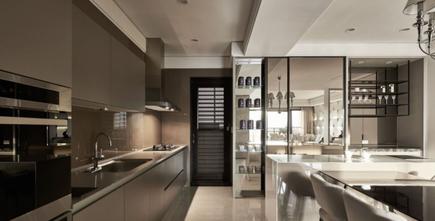 20万以上80平米三室三厅地中海风格厨房图片