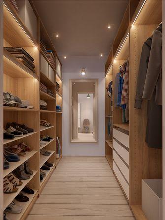 130平米四室两厅现代简约风格衣帽间效果图